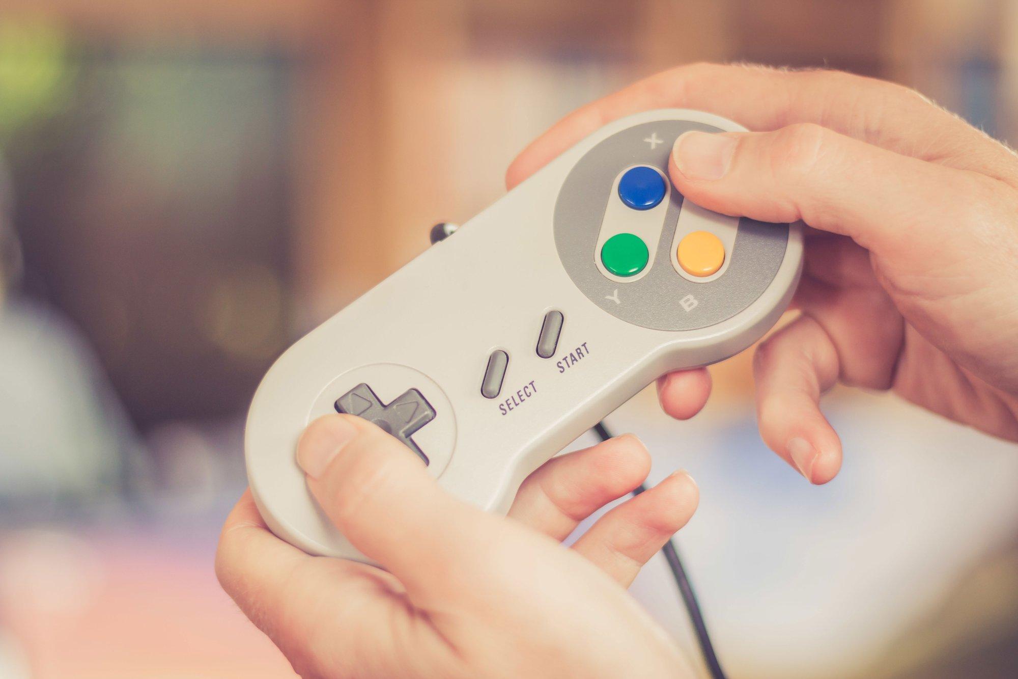 Retro Gaming Equipment